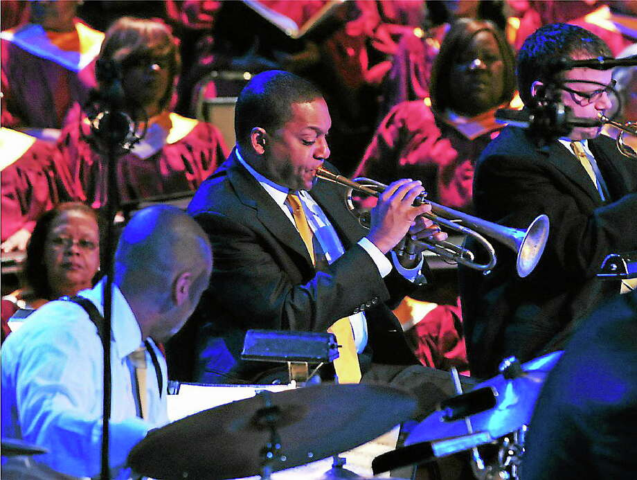 "The Abyssinian: A Gospel Celebration Tour is based on Wynton Marsalis' ""Abyssinian Mass,"" which he composed for the 200th anniversary of the Abyssinian Baptist Church in Harlem, Photo: Frank Stewart"