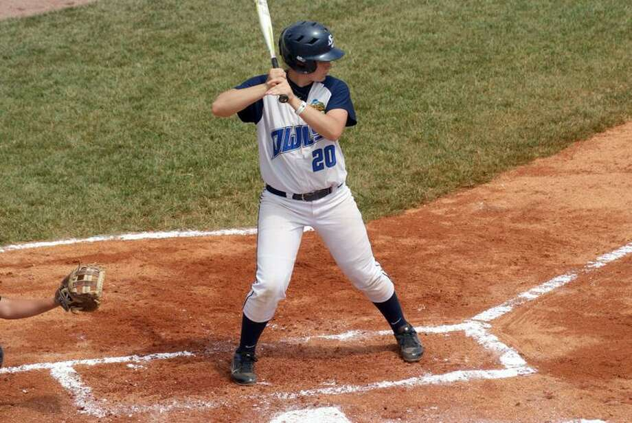 SCSU softball player Alyssa Downs of Seymour.