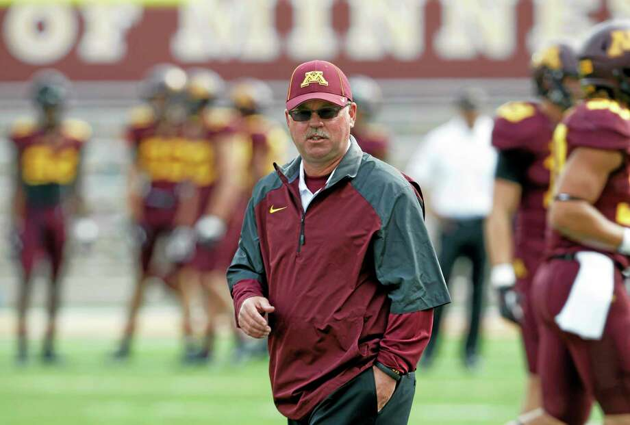 Minnesota head coach Jerry Kill is on an open-ended leave of absence from the team. Photo: Ann Heisenfelt — The Associated Press   / FR13069 AP