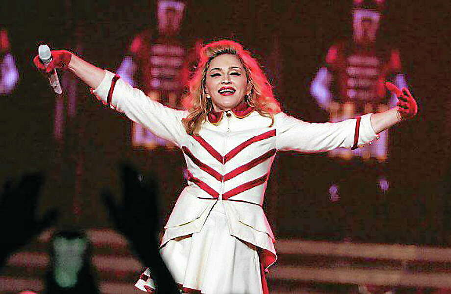 LOS ANGELES, CA - OCTOBER 10:  Singer Madonna performs at Staples Center on October 10, 2012 in Los Angeles, California.  (Photo by Kevin Winter/WireImage) Photo: WireImage / 2012 WireImage