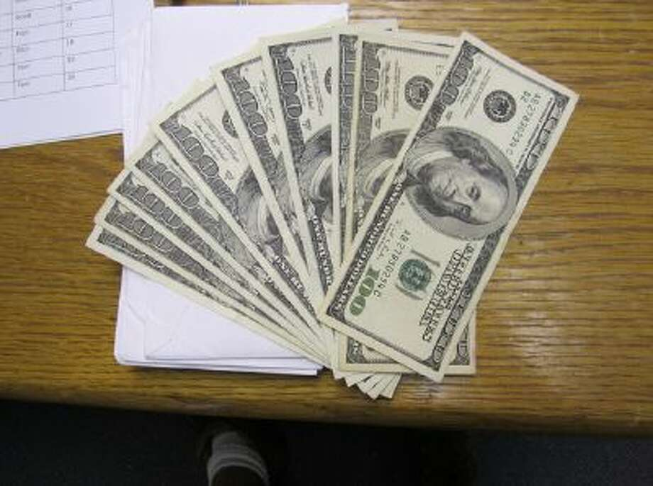 Envelopes containing $7,000 cash turned into the West Jordan Police Department by parks employee Dave Naylor in July. (Courtesy of Dave Naylor)