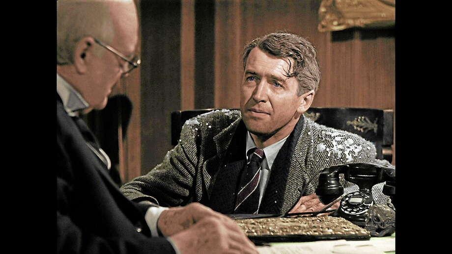 "Jimmy Stewart as George Bailey in Frank Capra's 1946 ""It's a Wonderful Life."" Photo: Provided Photo"