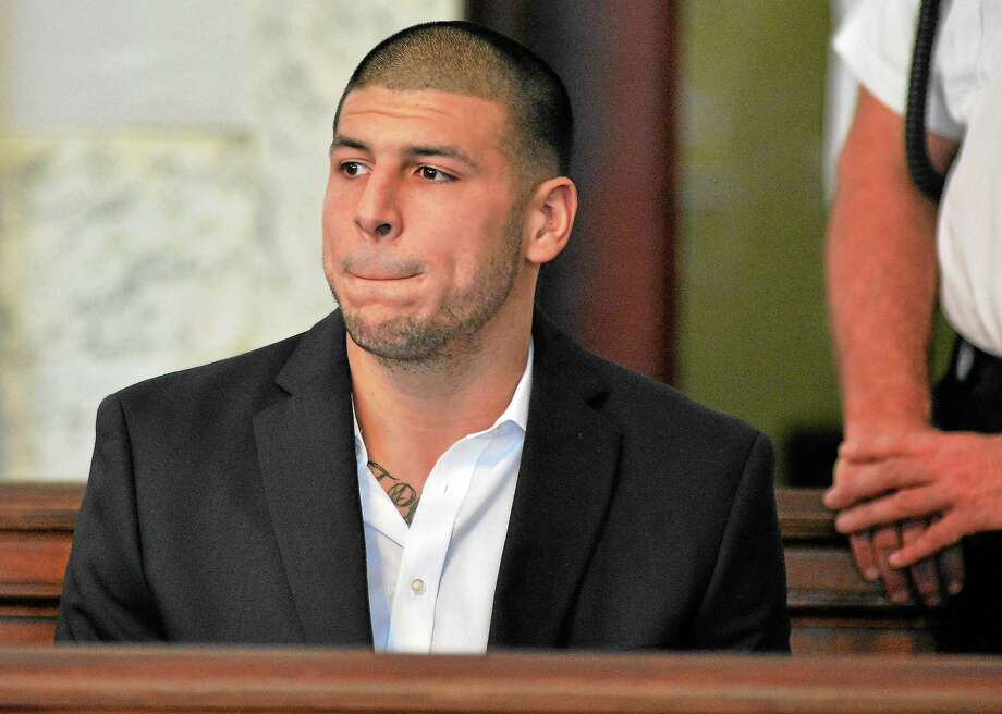 Prosecutors in the murder case against former New England Patriots tight end Aaron Hernandez want the judge to recuse herself. Photo: Josh Reynolds — The Associated Press   / AP2013