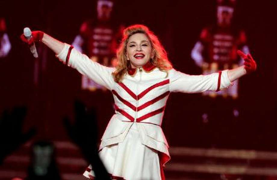 Singer Madonna performs at Staples Center on October 10, 2012 in Los Angeles, California. Photo: WireImage / 2012 WireImage