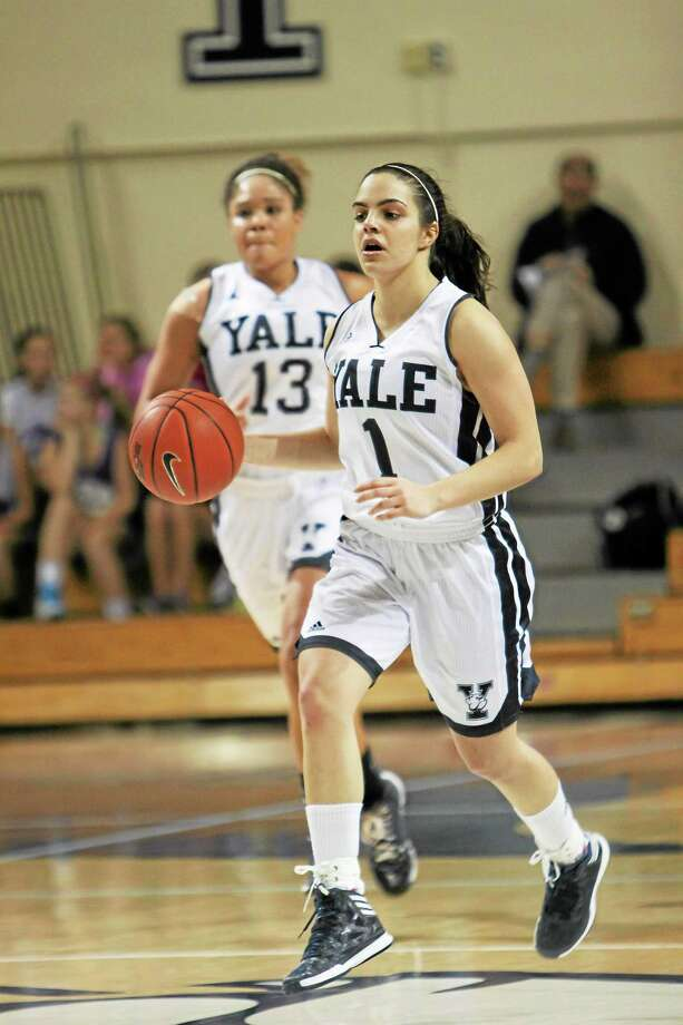 Yale junior Sarah Halejian is the team's leading scorer and was an All-Ivy League First-Team selection last season. Photo: Photo Courtesy Of Yale Athletics