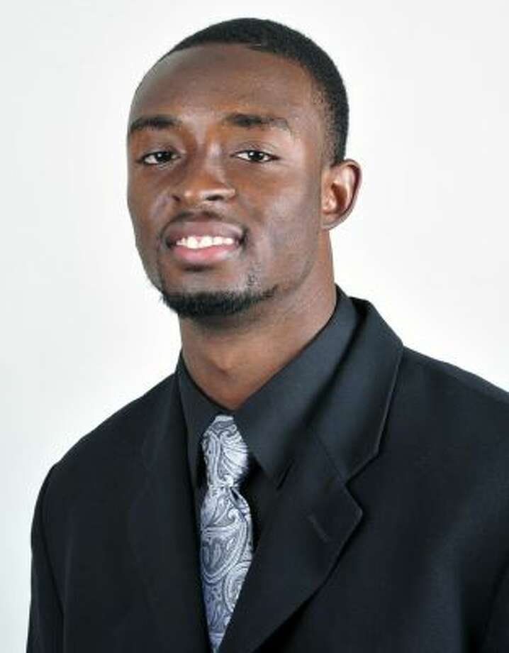 This undated photo provided by the Eastern Michigan University athletics department shows college football player Demarius Reed.