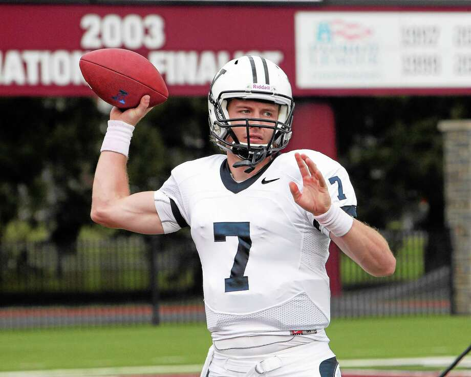 Yale senior quarterback Henry Furman has the Bulldogs at 3-0 this season. Photo: Photo Courtesy Of Yale Athletics   / 2013 All Rights Reserved
