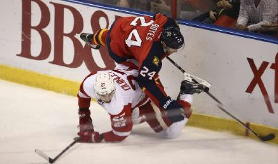 Would you believe that he worst seat could be found at a Florida Panthers game?