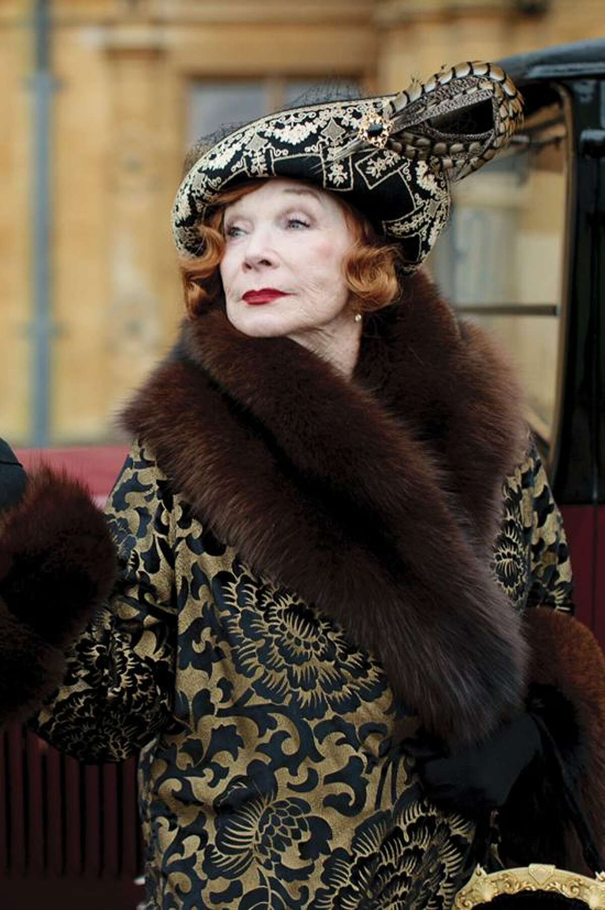 """Carnival Film and Television/PBS: Shirley MacLaine joins the cast as Martha Levinson on """"Masterpiece: Downton Abbey III,"""" premiering Sunday at 9 p.m. on PBS."""