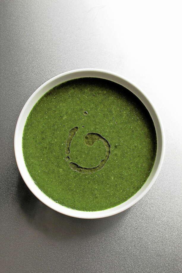Basic Green Soup Photo: Ken Burris — EatingWell