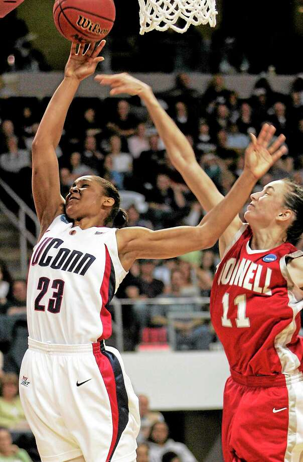 The UConn men's and women's basketball teams will each play a regular-season game at the Webster Bank Arena in Bridgeport this season. Photo: Associated Press File Photo   / AP