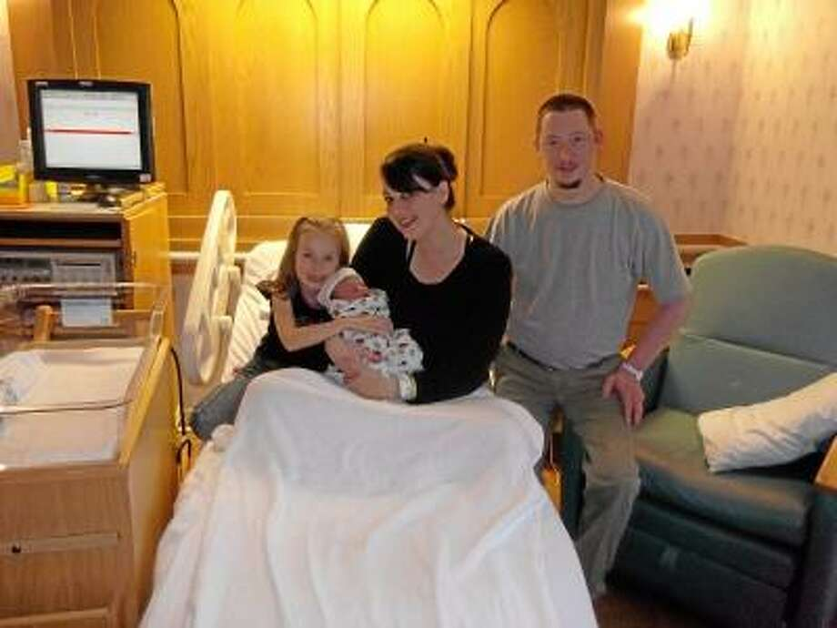 Shalyn and Michael Williams, of Torringotn welcomed son Landon Ryan Williams into the world on Jan. 2, 2013.He is the third child of the Williams' with an older sister Shalya and older brother Jessie (not pictured).
