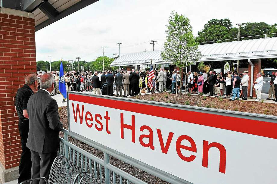 Peter Casolino — RegisterThe grand opening of the new West Haven train station. pcasolino@newhavenregister.com Photo: Journal Register Co.