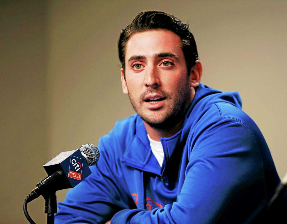 New York Mets pitcher Matt Harvey will have elbow surgery and miss the 2014 season. Photo: Kathy Willens — The Associated Press   / AP2013