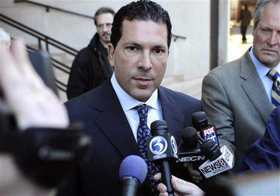 FILE - In this March 17, 2011 file photo, attorney Joseph Tacopina speaks to the media outside Superior Court in New Haven, Conn. Major League Baseball is challenging Alex Rodriguez's lawyer to allow the sport to make public the evidence that led to the 211-game suspension of the New York Yankees star. MLB executive vice president Rob Manfred wrote to lawyer Joseph Tacopina on Monday, Aug. 19, 2013, urging him to waive his client's confidentiality. (AP Photo/Jessica Hill, File) Photo: AP / FR125654 AP