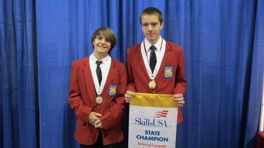Photo Courtesy Madison-Oneida BOCES Morrisville-Eaton senior Alex Clark took first place in the Technical Computer Applications competition at the SkillsUSA State Competition in April, qualifying him to compete at the national competition in Kansas City, Mo., in June