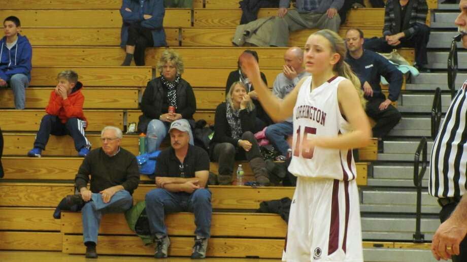 Torrington's Caroline Teti scored her 15 points all in the first quarter. Photo by John Nestor/Register Citizen Correspondent