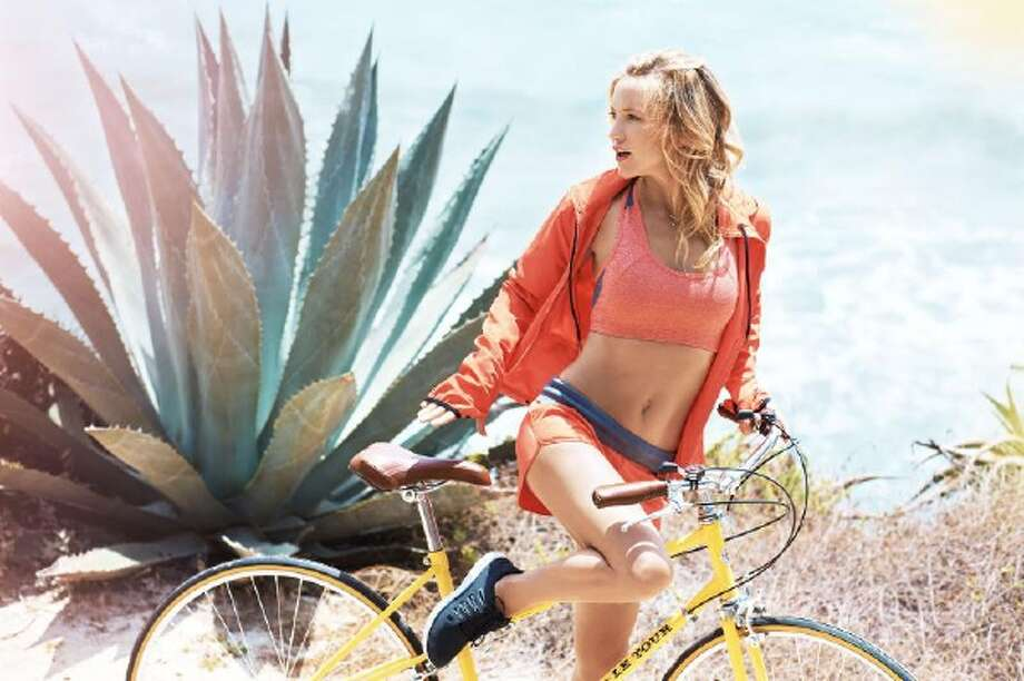 Kate Hudson launches new fitness fashion collection, Fabletics. Photo: PR NEWSWIRE