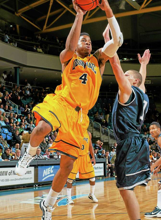Ike Azotam and the Bobcats will play their first MAAC game against Fairfield Friday night. Photo: Photo Courtesy Of Quinnipiac Athletics