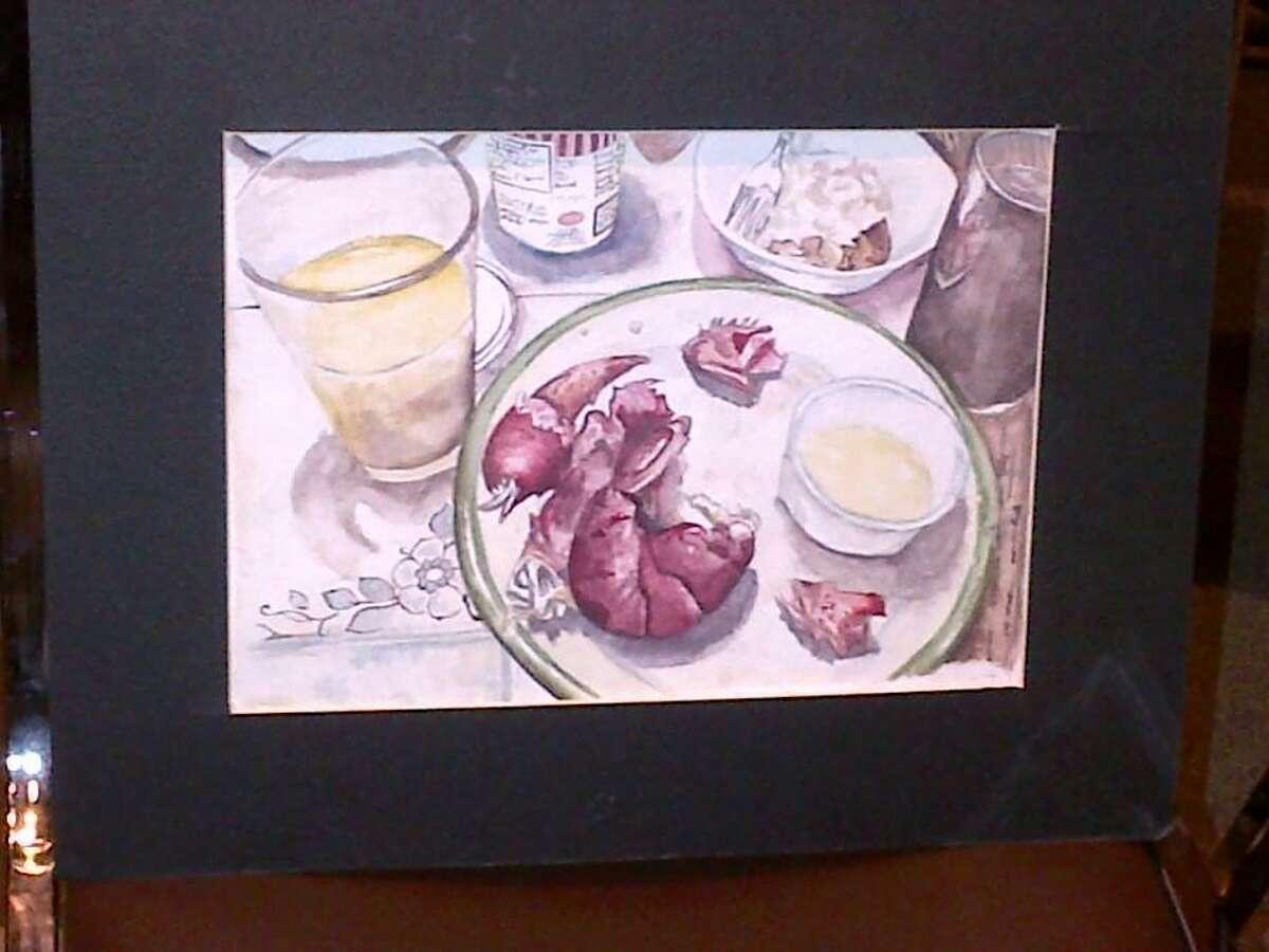 "First Runner-Up - ""Lobster"" by Jazmyn Franco (Nonnewaug High School)"