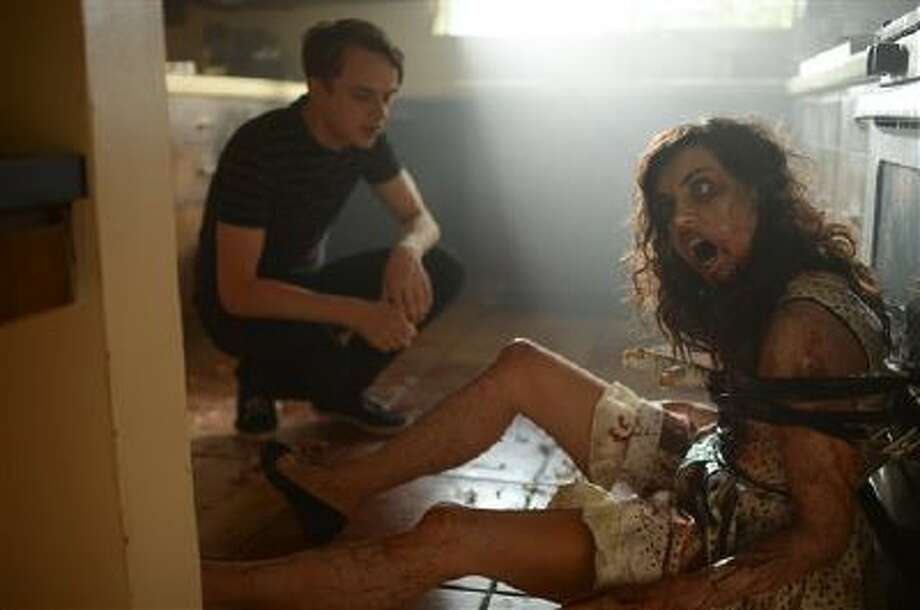 "Dane DeHaan, left, and Aubrey Plaza in a scene from the film, ""Life After Beth."" Photo: AP / Sundance Institute"