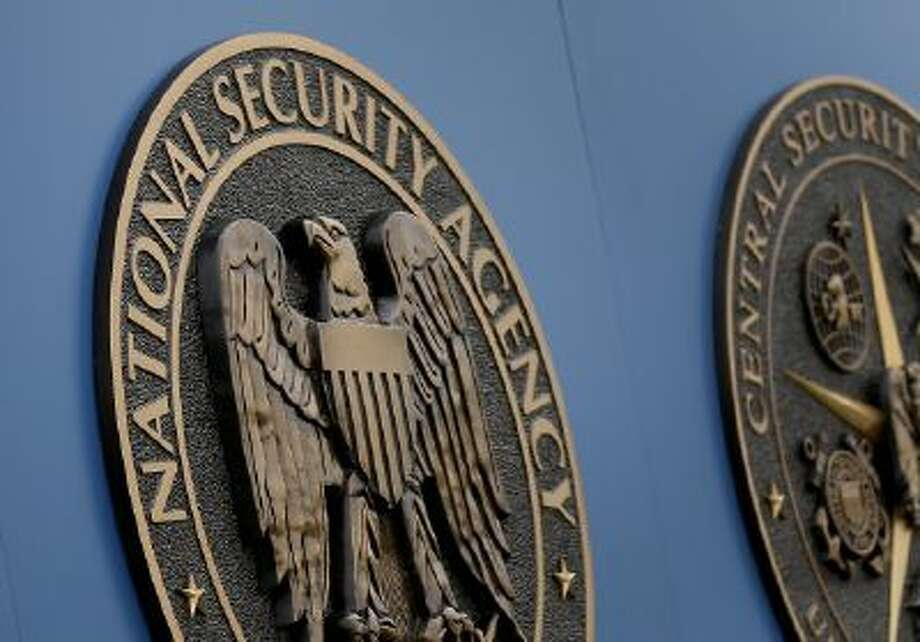 In this Thursday, June 6, 2013, file photo, a sign stands outside the National Security Administration (NSA) campus in Fort Meade, Md.