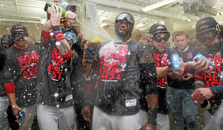 Thanks to a major contribution from Craig Breslow, the Red Sox were able to win the A.L. East pennant this season. Photo: Charles Krupa — The Associated Press   / AP