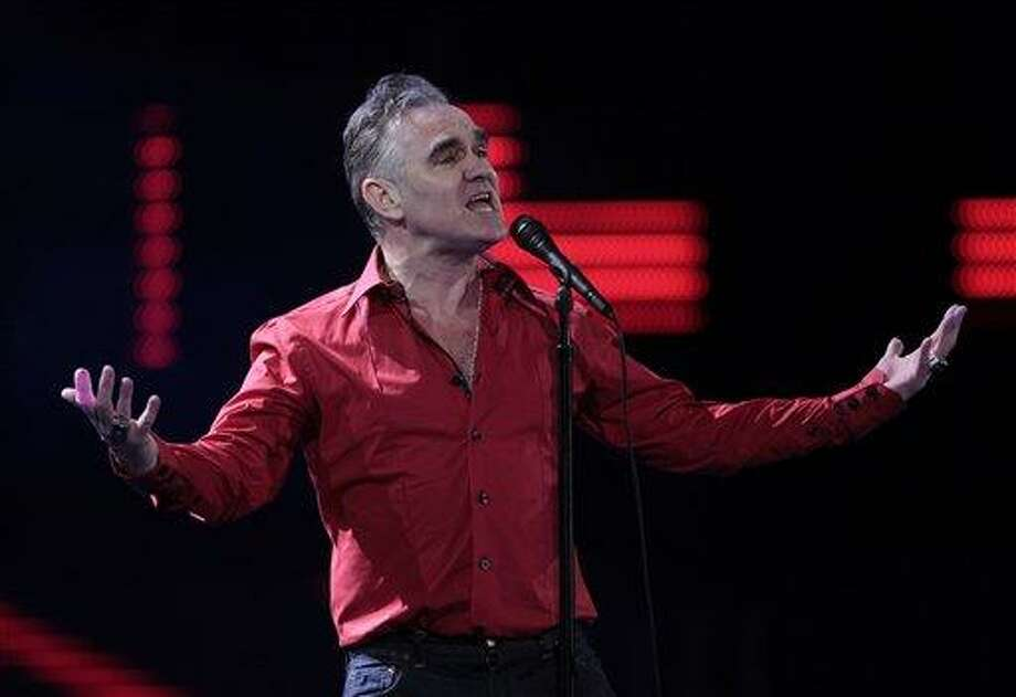 England's singer Morrissey. Associated Press file photo Photo: AP / AP