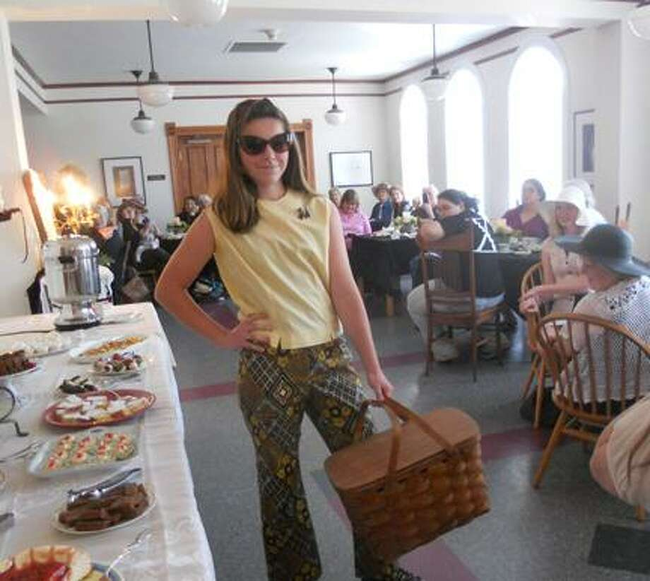 Photo Courtesy Earlville Opera House Cayla Wheeler wears a vintage outfit during 2012. The Earlville Opera House will host a Mother's Day Tea and Vintage Fashion Show on Saturday, May 11, 2013, from 2-4 p.m.
