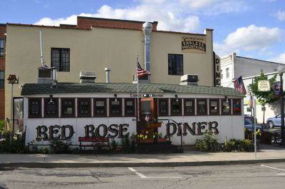 The Red Rose Diner, a restored 1927 P.J. Tierney-made diner in Towanda Pa., is shown on May 25. It is one of the many roadside diners along Pennsylvania Route 6. Photo: The Washington Post / THE WASHINGTON POST