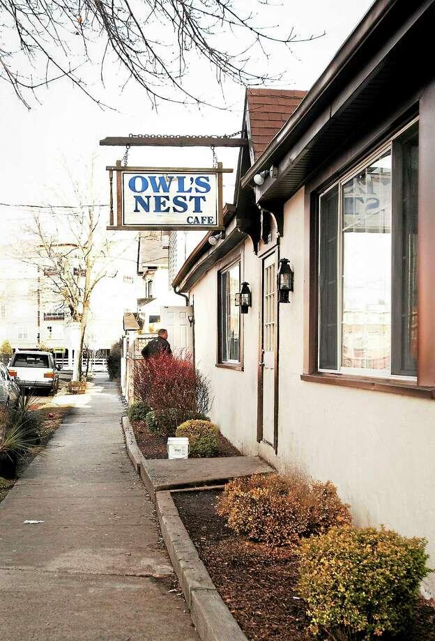 (Melanie Stengel — New Haven Register)   The Owl's Nest Cafe. Photo: Journal Register Co.