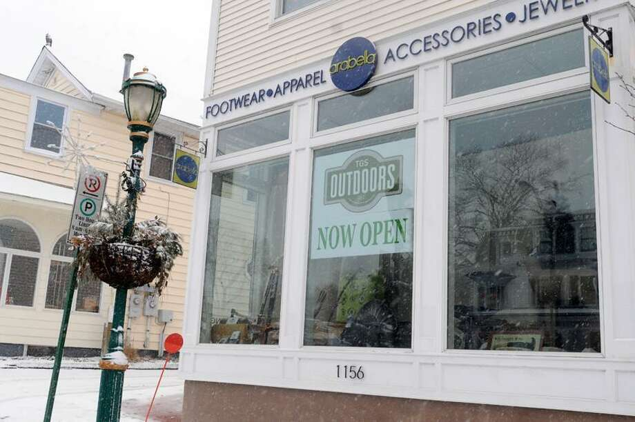 TGS OUTDOORS on Main Street, Branford, Connecticut. Friday, February 8,  2013  Photo by Peter Hvizdak / New Haven Register Photo: New Haven Register / ©Peter Hvizdak /  New Haven Register