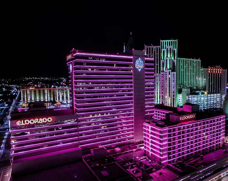 Although its exterior remains lined with pink neon, the Eldorado casino resort in Reno now offers renovated rooms and new dining and entertainment.