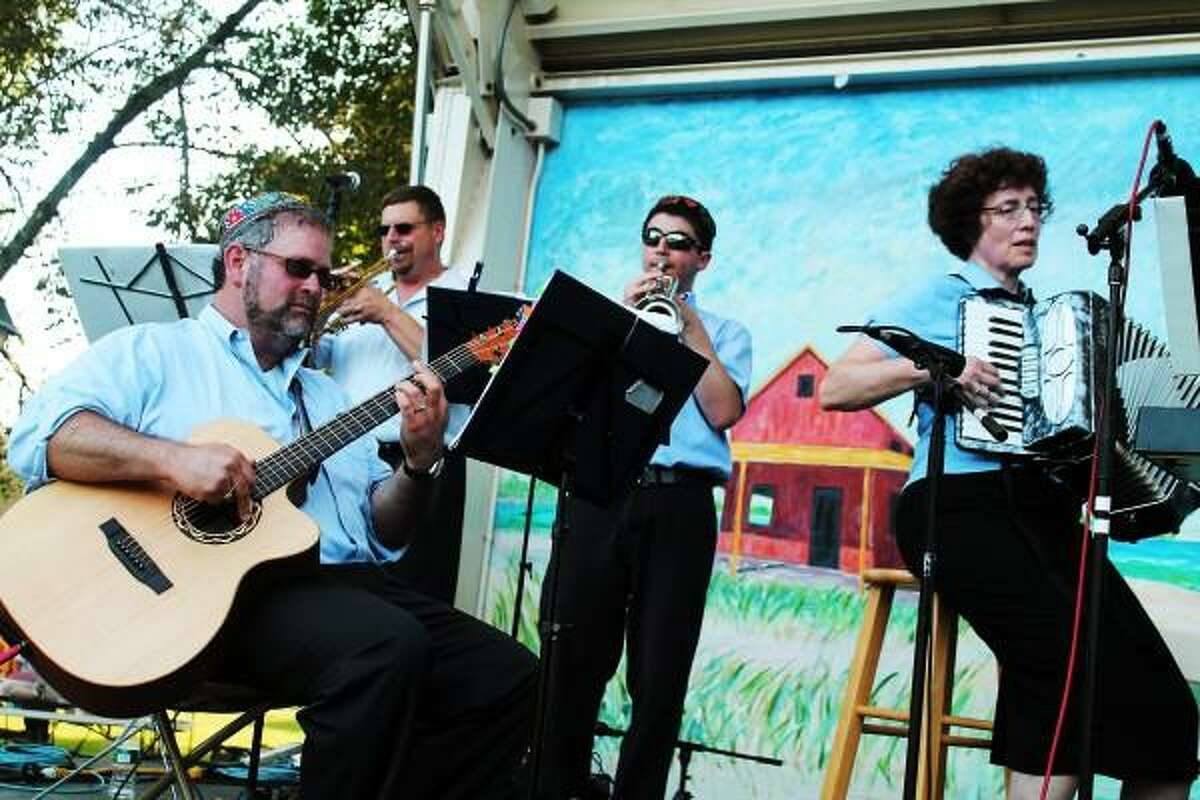 Chabad of the Shoreline photo: The Shoreline Jewish Festival will have lots of music: Roz Etra and The Klezmenschen take the stage at 4 p.m. Sunday on the Guilford Green.