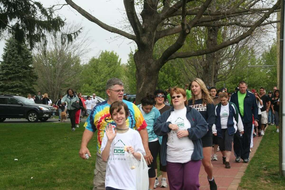 Contributed photo: Saturday's walk benefits Branford's Community Dining Room.