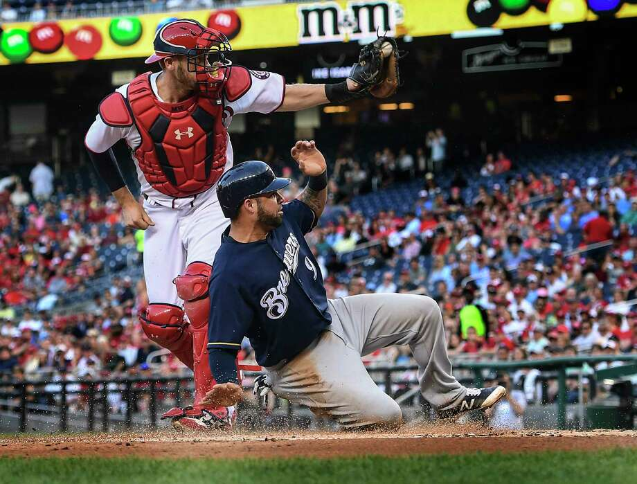 Brewers pitcher tagged by Nats for six homers in historically bad start