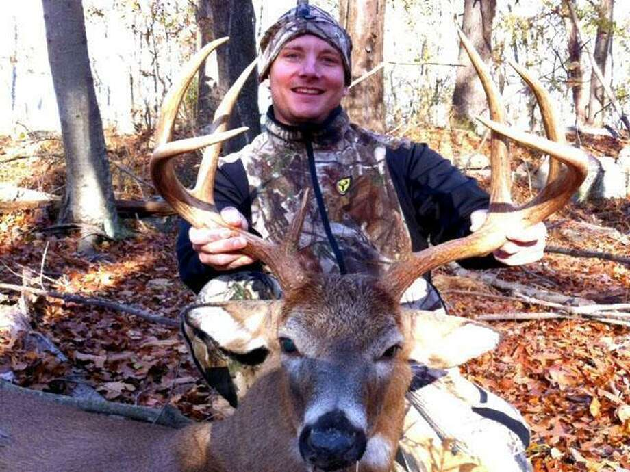 """This photo is cited in federal documents, from <a href=""""http://bigbuckclub.com"""">bigbuckclub.com</a>. According to the details of the site, Cari shot this deer on Nov. 6, 2012, with a bow."""