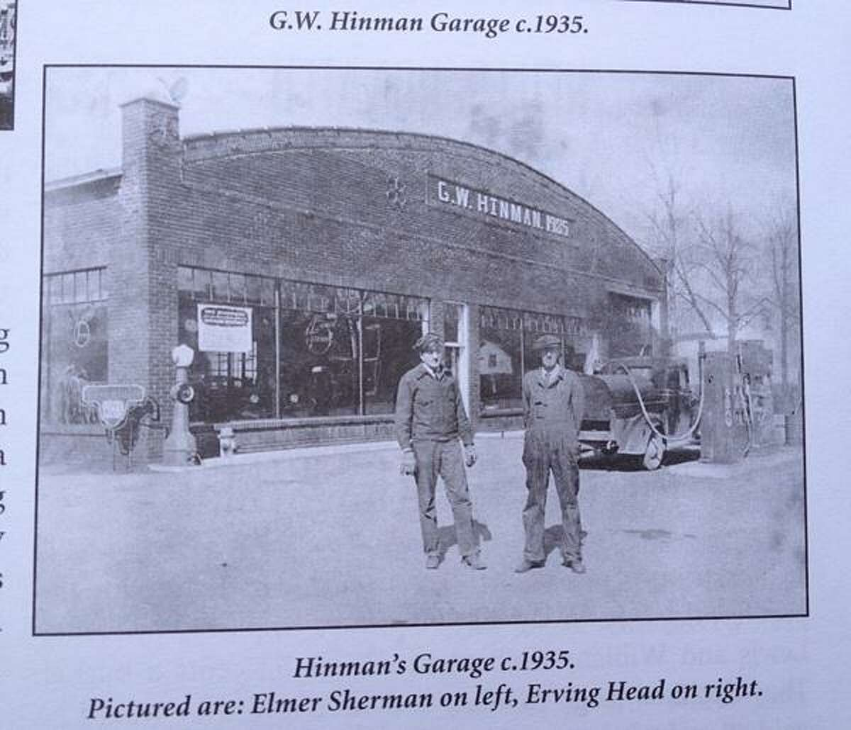 """Photo Courtesy of Jim Ford An images of then G.W. Hinman c 1935 from Jim Ford's book """" Grove His Life and Legacy in the Madison Area"""""""