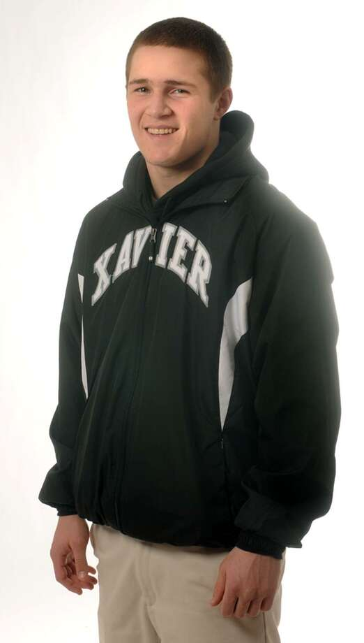 Xavier's Elliott Antler, the Register's All-Area wrestling MVP.