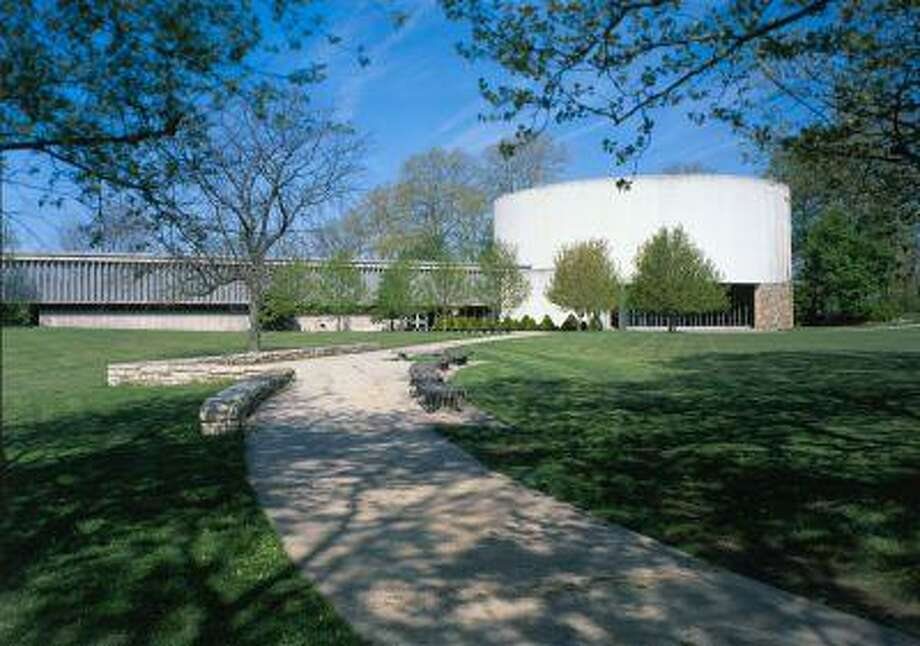 "An exterior view of the Cyclorama Building, circa 2004. This was the home of painter Paul Philippoteaux's ""The Battle of Gettysburg,"" better known as the Gettysburg Cyclorama. Photo: The Washington Post / The Washington Post"