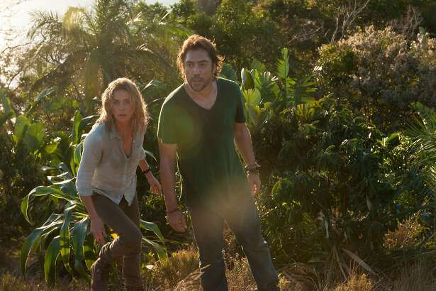 """Charlize Theron and Javier Bardem in """"The Last Face."""""""