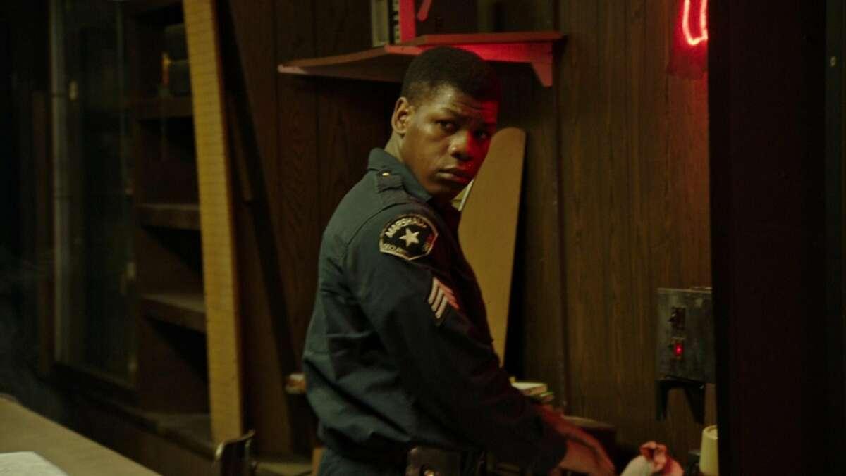John Boyega in a scene from