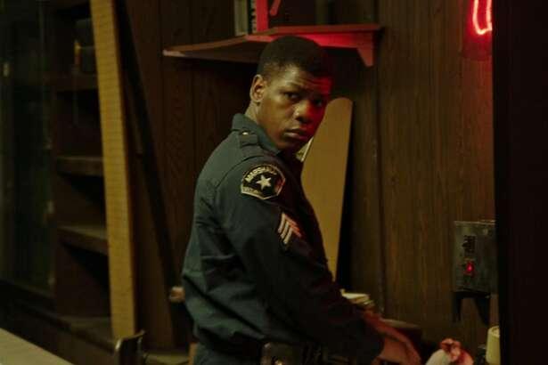 """John Boyega in a scene from """"Detroit."""" (Francois Duhamel/Annapurna Pictures)"""