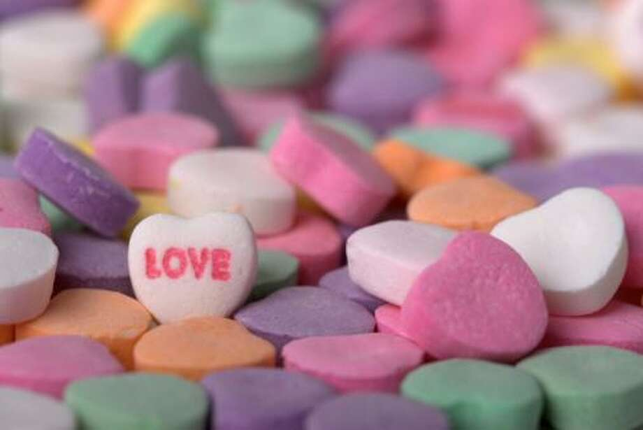 Valentines Day Candy Hearts I Photo: Getty Images/iStockphoto / iStockphoto