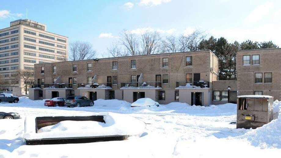 Residents have been kept from their homes at Dediego Court in Church Street South. (Peter Hvizdak/Register)