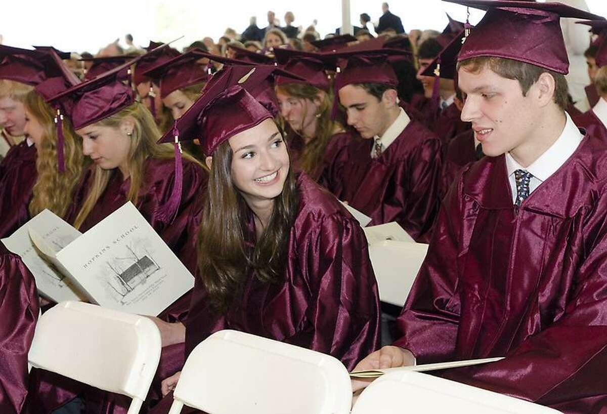 Hopkins Graduation 2013 Photos by Melanie Stengel mstengel@newhavenregister.com Follow me on Twitter @nhrmstengel