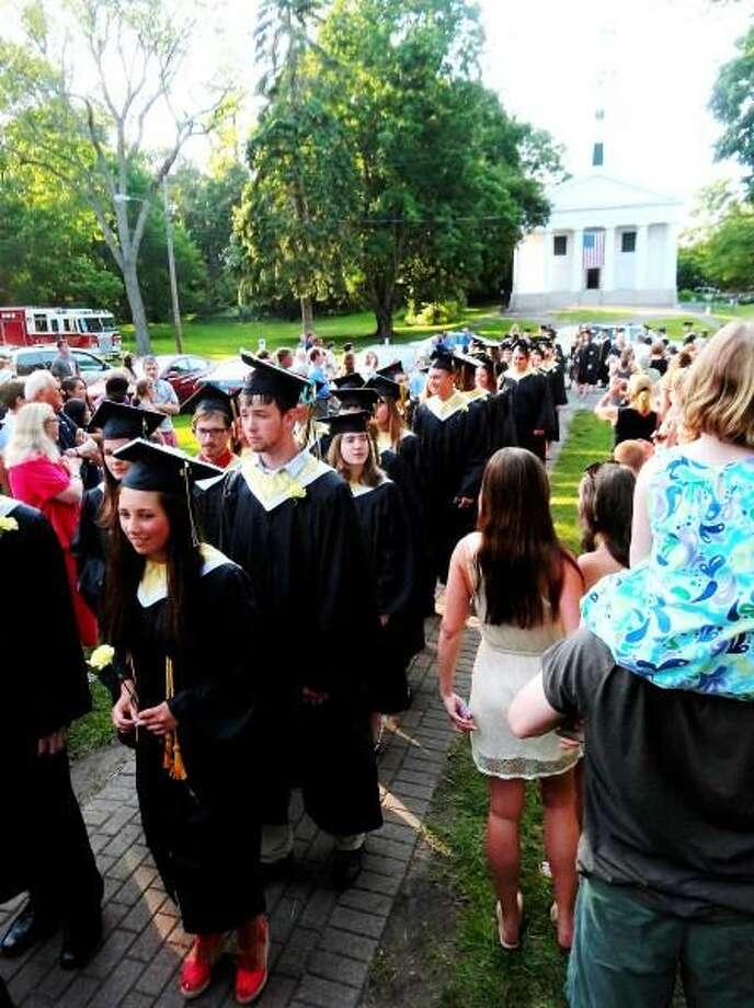 Daniel Hand High School graduation in Madison on 21 June 2013. Darren Yip/For the Register