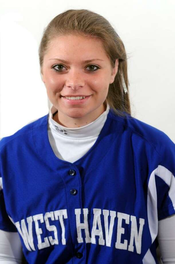 FEMALE ATHLETE OF WEEK: Camdyn Morgillo, West Haven softball. VM Williams/Register