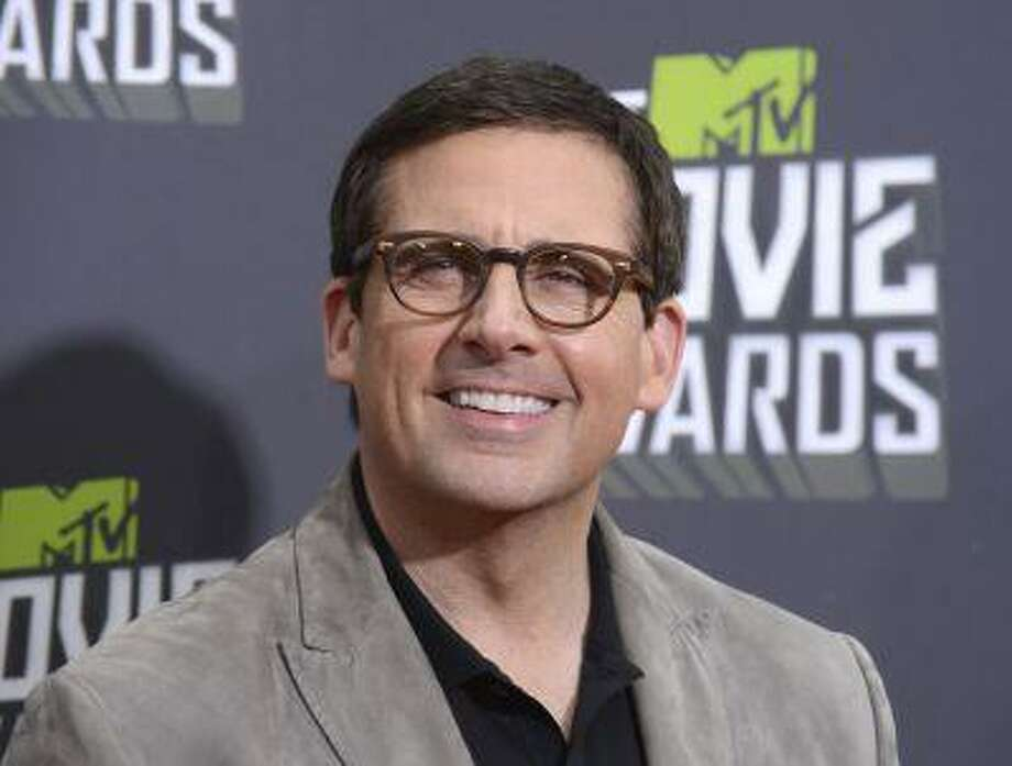 Actor Steve Carell arrives at the 2013 MTV Movie Awards in Culver City, California April 14, 2013. (REUTERS/Phil McCarten) Photo: REUTERS / X01882