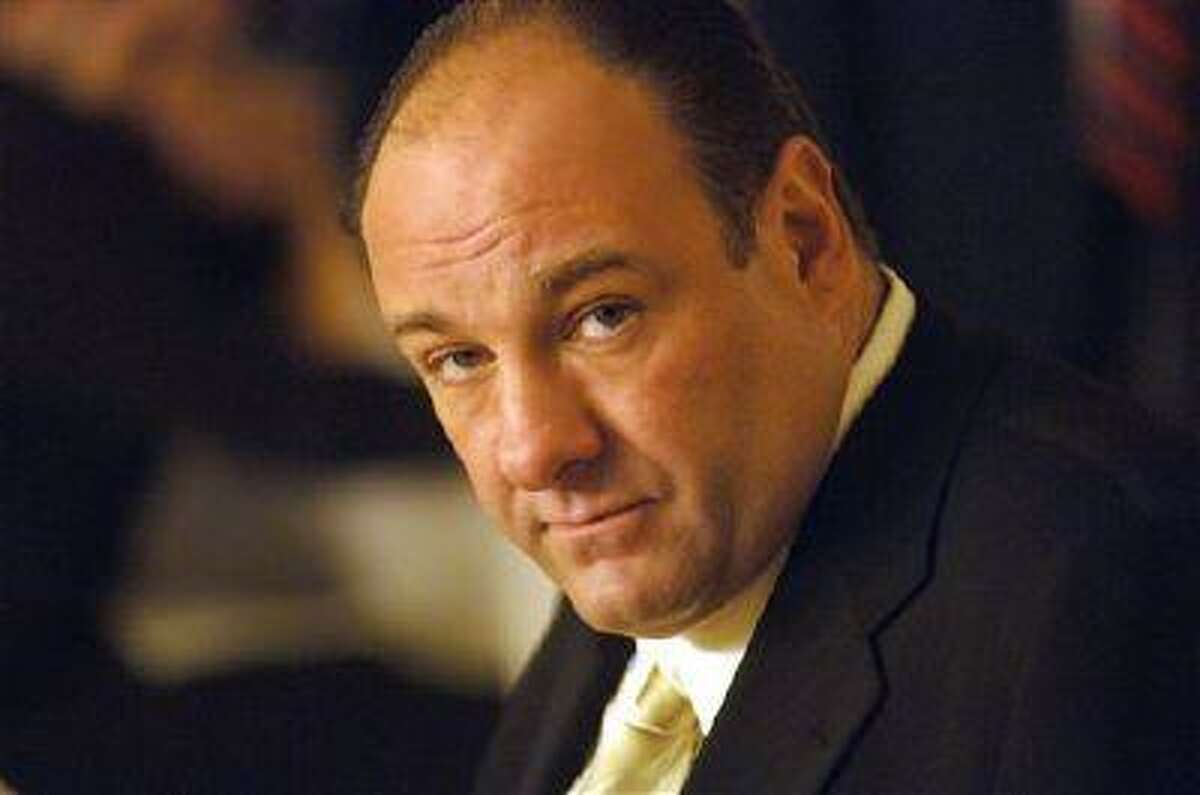 This undated publicity photo, released by HBO, shows actor James Gandolfini in his role as Tony Soprano, head of the New Jersey crime family portrayed in HBO's